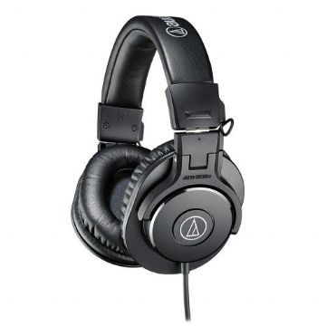 Audio Technica ATH-M30X Professional Studio/DJ/Monitor Headphones